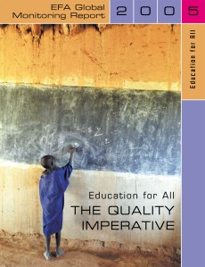 Education for all: the quality imperative