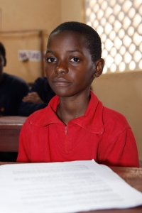 A child at Dindi Primary School in Mwandama Millennium Village, Malawi. Photo: Evan Schneider/UN