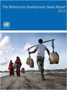 MDG 2013 report