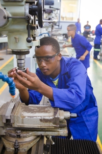Skills training in South Africa © Government of South Africa