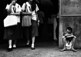 Image result for poverty in education black and white