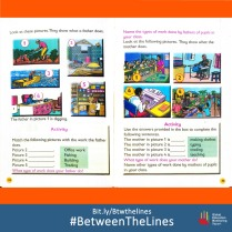 Can you help us spot the #genderbias in this Kenyan textbook? What #gender norms does your textbook teach you? We want to know! Share it and tag us using: #BetweenTheLines and download the @GEMReport policy paper on textbooks: Bit.ly/Btwthelines