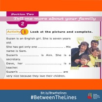 Can you help us spot #Gender bias in this example from a #Tunisian English Textbook? What #gender norms does your textbook teach you? We want to know! Share it and tag us using: #BetweenTheLines and download the @GEMReport policy paper on textbooks: Bit.ly/Btwthelines