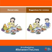 Vietnam challenges gender norms in textbooks. What #gender norms does your textbook teach you? We want to know! Share it and tag us using: #BetweenTheLines and download the @GEMReport policy paper on textbooks: Bit.ly/Btwthelines