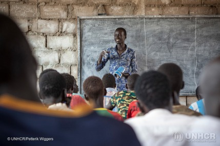 Teacher Lim Bol from South Sudan