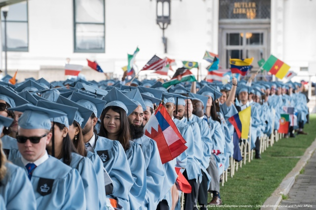 SIPA's Commencement 2016 at Columbia University