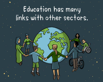 Education has many links with other sectors   World