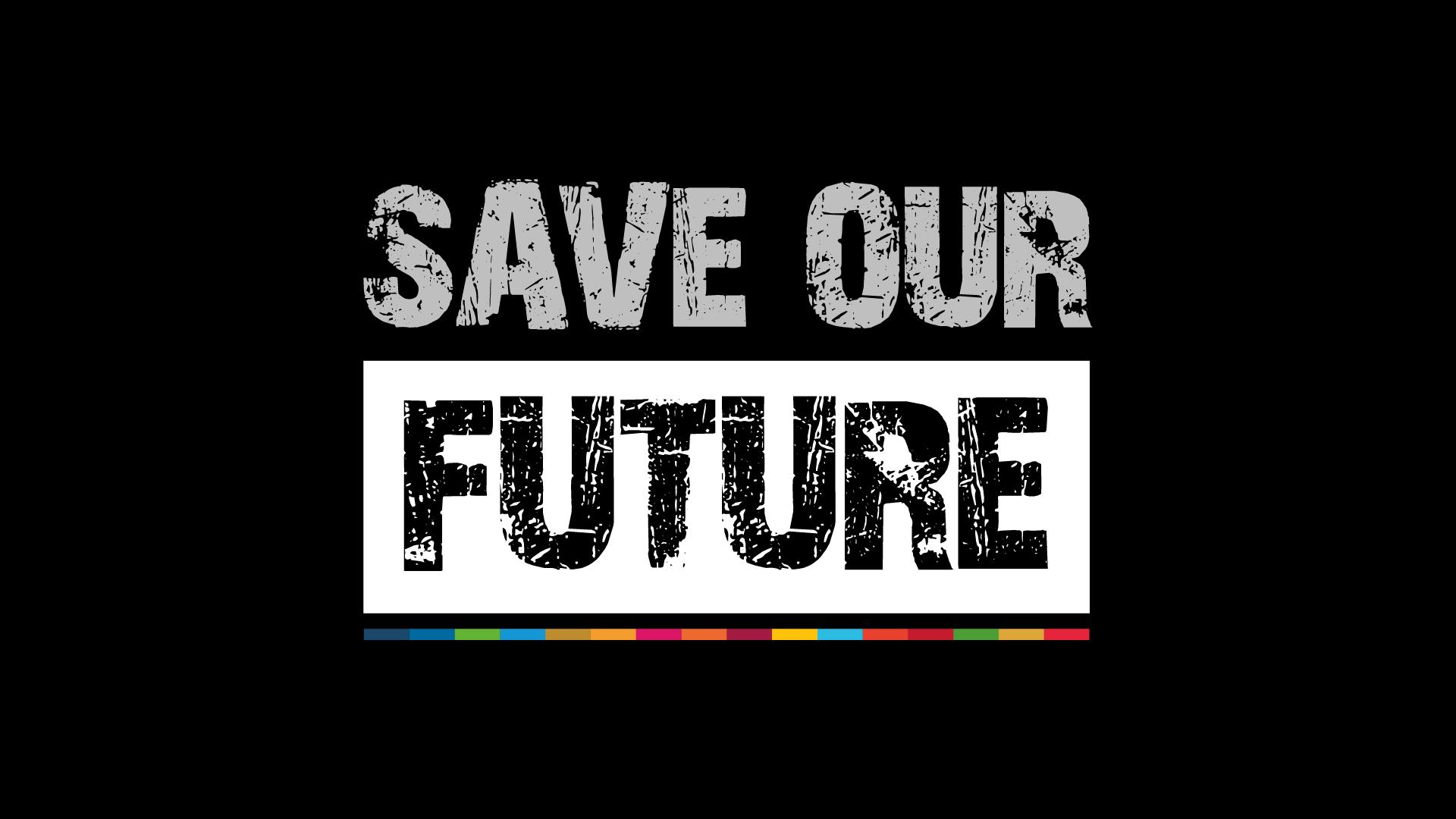 Save Our Future logo (En)